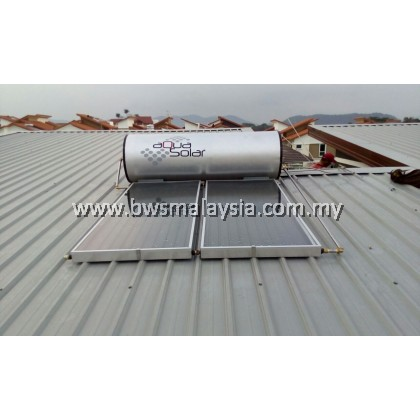 Aquasolar L35 (160 Liters) Solar Water Heater Malaysia (c/w Installation)