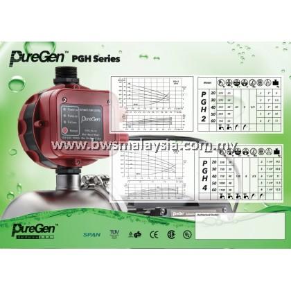 PUREGEN PGH2-40 Water Pressure Pump Malaysia (Silent Pump)
