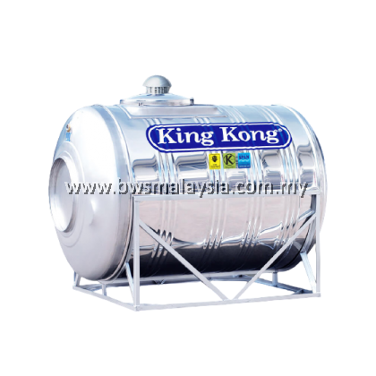 King Kong ZR1500 (15000 liters) Stainless Steel Water Tank (Horizontal Model)