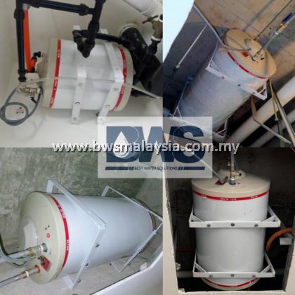 Elton EWH150R (EH-150) Storage Water Heater Malaysia - Elton 150 litres (150L) Horizontal Model