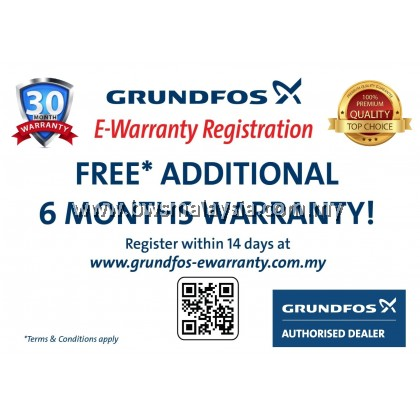 Grundfos CM3-3PT Water Booster Pump | Free Anti Vibration Matt & Delivery