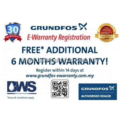 Grundfos CM3-5PT Water Booster Pump | Free Anti Vibration Matt & Delivery
