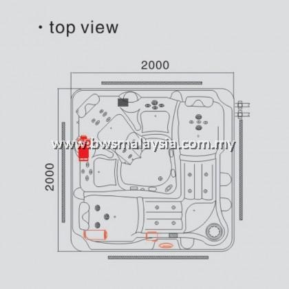 Eurano ERN11994 Dynasty Spa Pool Malaysia
