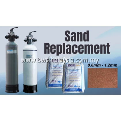 Sand Replacement - WaterCo Outdoor Water Filter W250 and W300 MKII