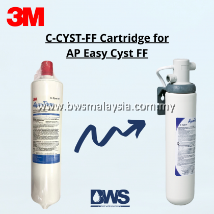 3M FILTER CATRIDGE FOR AP EASY CYST FF | C-CYST-FF