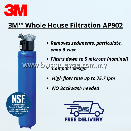 3M AP902 Outdoor Water Filter Package with 3M AP Easy Complete Indoor Drinking Water Filter