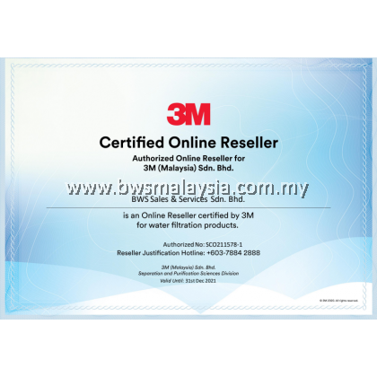 3M AP Easy Cyst FF Indoor Water Filter with EXTRA Replacement Cartridge
