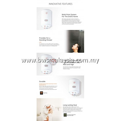 Joven JSV35 (35L) Storage Water Heater Price (Vertical) - Joven 35 Litres