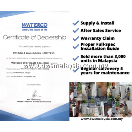 [WITH INSTALLATION] Waterco W250 Outdoor Water Filter Malaysia | FREE GIFT Stoneware Purifier 8L